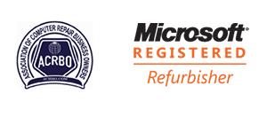 Microsoft Registered Refurbisher Logo